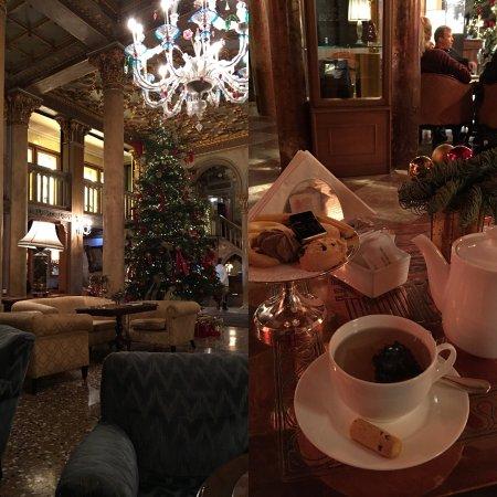 Luxury afternoon tea at the Bar Dandolo