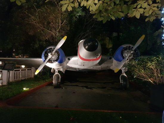 Mayfair Lagoon: Aeroplane on the grounds