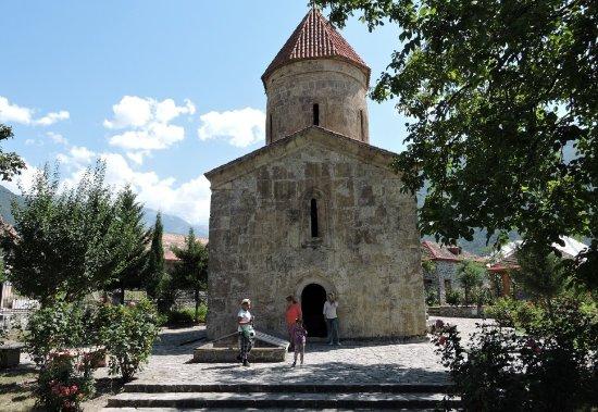 Lahich, อาเซอร์ไบจาน: Албанская церковь,деревня Киш, Шеки, Азербайджан.