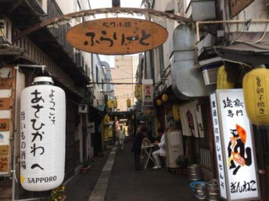 Asahikawa, Japan: 北側の入り口です。