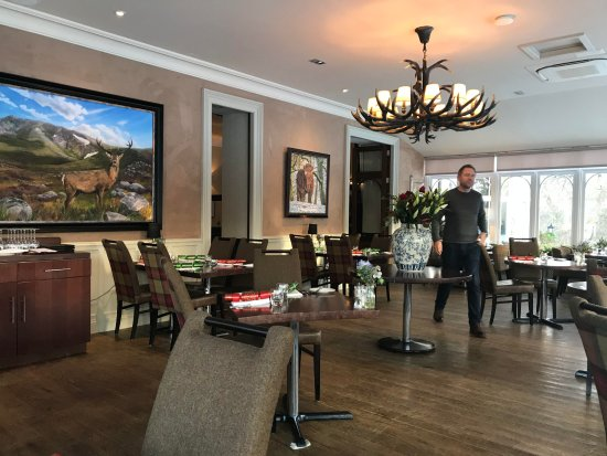 Dining hall photo de muckrach country house hotel for House dining hall images
