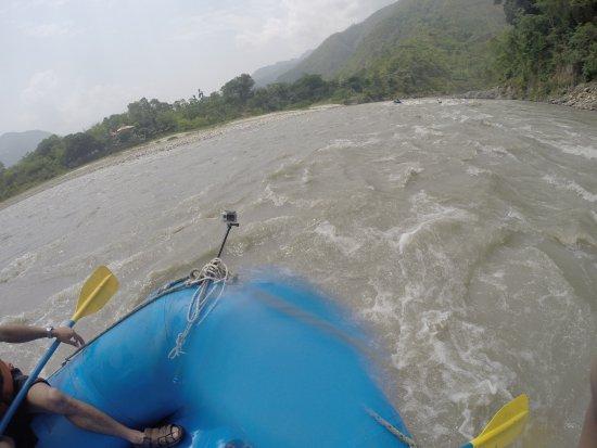 Kathmandu, Nepal: Rafting on Trisuli River - 2013