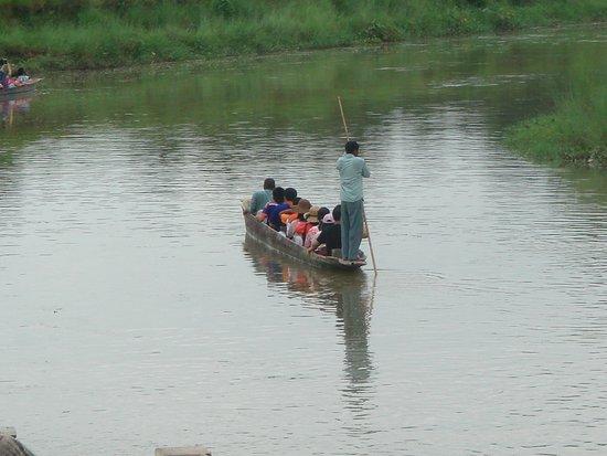 Royal Mountain Travel: Jungle walk in Chitwan National Park - Seen crocodiles and rhinoceros - 2014