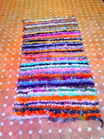Περιοχή Ταγγέρης-Τετουάν, Μαρόκο: Multicolor carpet cloth