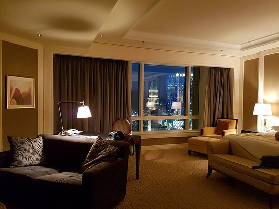 Four Seasons Hotel Macau, Cotai Strip: номер