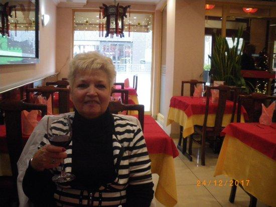 La Chine: Salle du restaurant