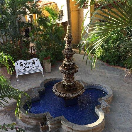 Tropicana Inn: Garden