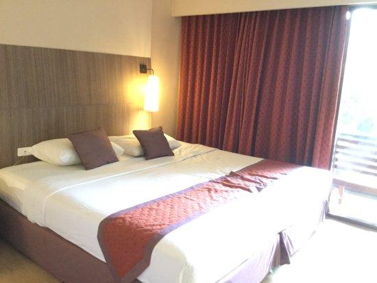 Green Park Resort: Double bed