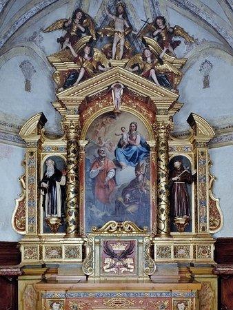 Mareson, Itália: Altare maggiore, di A. Brustolon (1731-32)