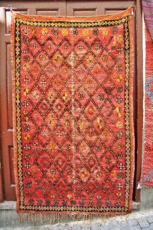 Tangier-Tetouan Region, Morocco: Tradional carpet berber