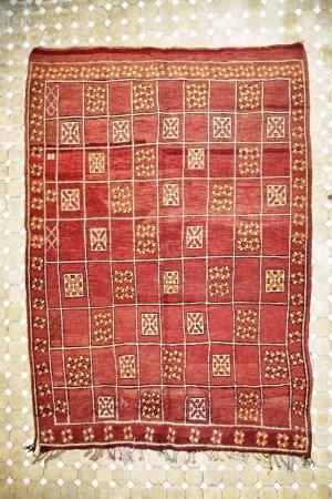 Región de Tánger-Tetuán, Marruecos: Tradional carpet berber