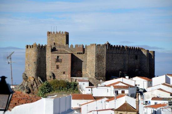 Segura de Leon, Hiszpania: Vista desde el pueblo