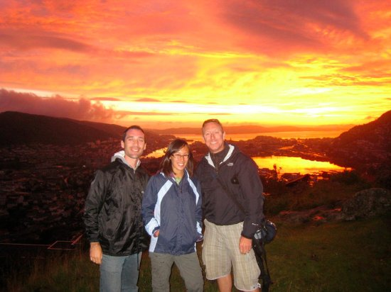 Montana Family & Youth Hostel : This July sunset was INCREDIBLE!