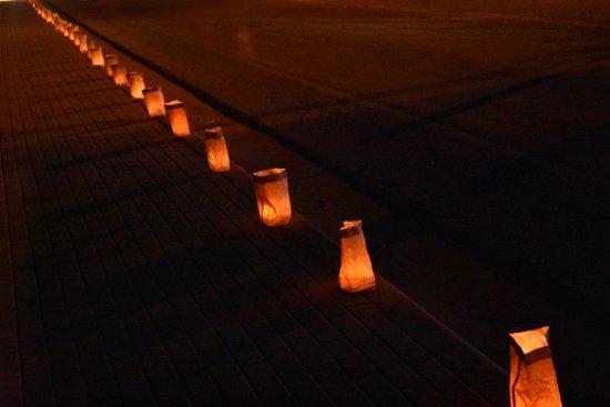 San Albino Church : Paper Lanterns on Christmas Eve