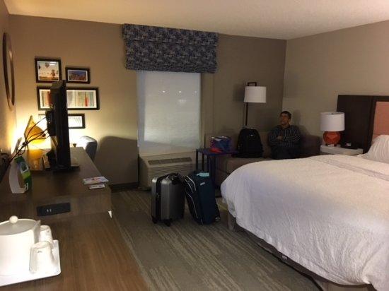Hampton Inn Statesville king room