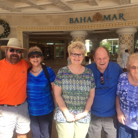 Don West & his family visited the new Bahamar resort & casino during there Christmas visit.