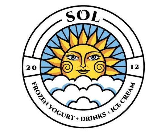 Sol Frozen Yogurt, Drinks & Gelato ( NOT BEACH LOCATION): New logo