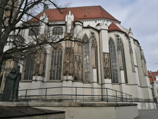 Dom St. Maria: Fachada possterior.