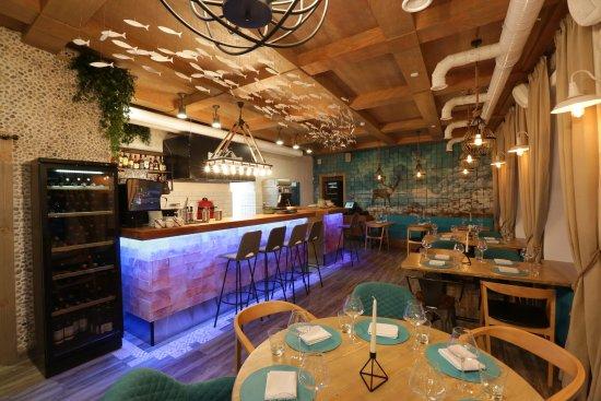 Teriberka Bar: основной зал