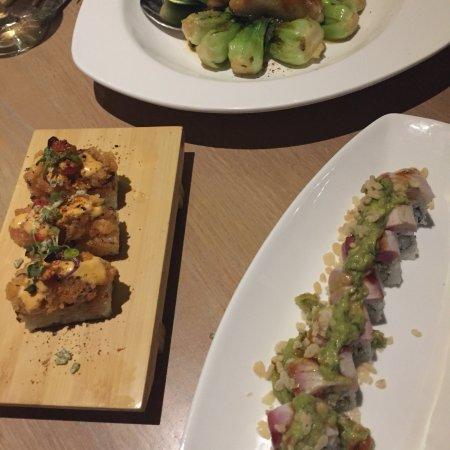 Pan Asian Fusion cuisine