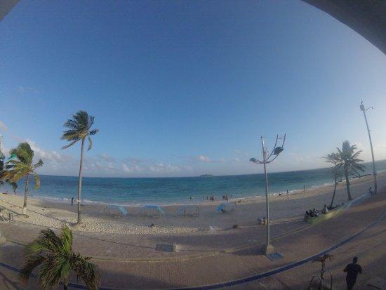 Hotel Bahia Sardina: Vista desde la habitación: Perfecta