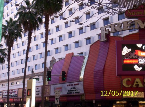 Fremont Hotel and Casino: The quieter wing of the hotel.