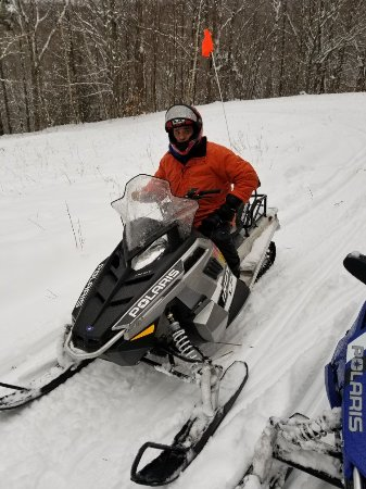 Snowmobile Vermont : Derek was awesome!  He was very knowledgeable and wanted to make sure that I was comfortable and