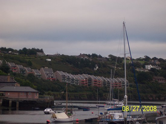 Fishy Fishy Restaurant: Real estate in Kinsale can be expensive. These colorful condos have fantastic views of the harbo