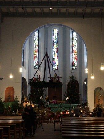 Rüdesheim an der Nahe, เยอรมนี: inside of the church