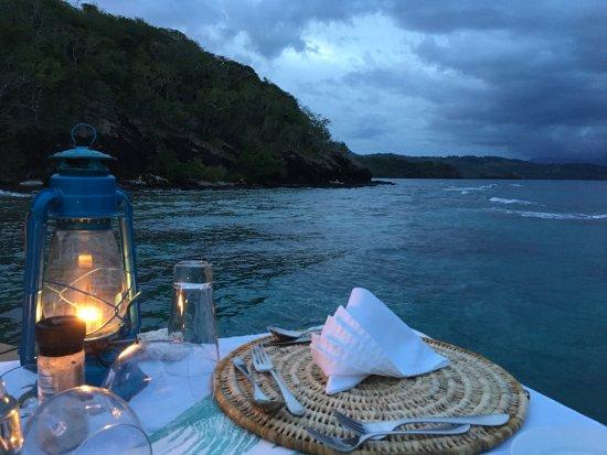 Vanua Levu, Fidschi: Dining at the Jetty