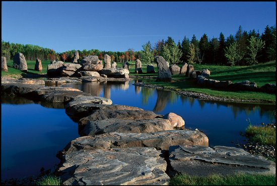 Wallace, Canada: Golf course