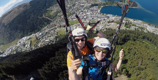 GForce Paragliding: The best views of Queenstown and Lake Wakatipu.
