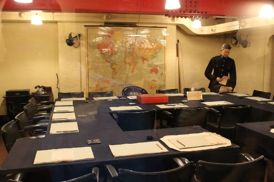 Cabinet Room at the Churchill War Rooms - Picture of Churchill War ...