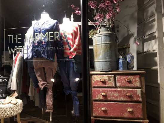 Creswick, Australia: The Farmer's Wife store