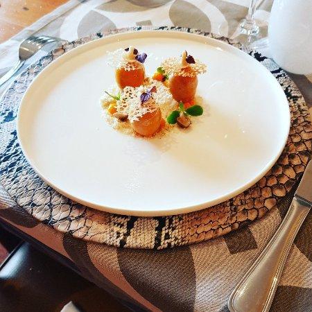 Foie gras de notre repas no l picture of restaurant de - Restaurant la grange aux ormes marly ...