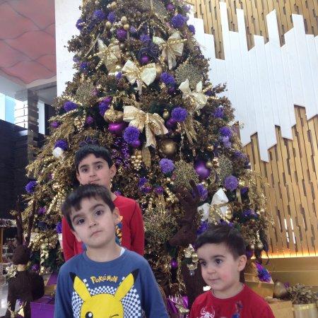 Fairmont Bab Al Bahr: Christmas party at the fairmont