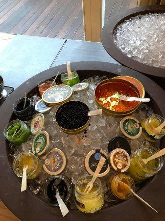 Kempinski Hotel Cathedral Square: Caviar for breakfast