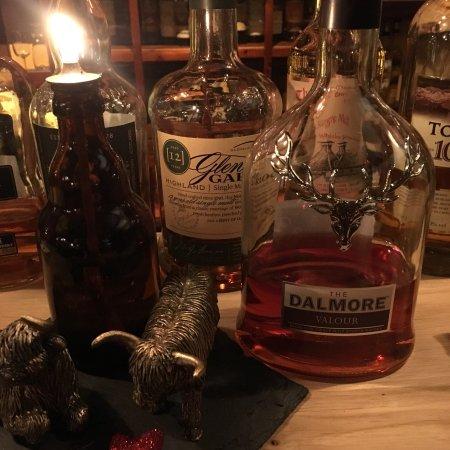 Stavoren, Holland: Veel keuze in heerlijke whiskey's.