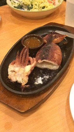薩莉亞意式餐廳 (御庭居):鐵版魷魚