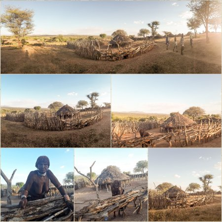 Southern Nations, Nationalities, and People's Region, Ethiopia: Hamer bita gelefa village