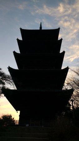 Okayama Prefecture, Japan: Kokubunji temple