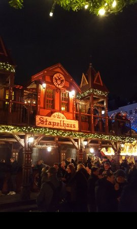 Christmas Market in Heumarkt - Picture