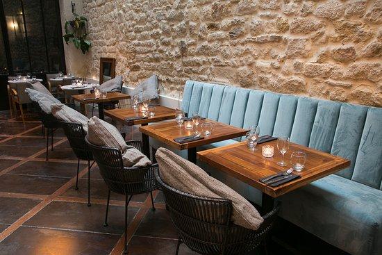 Restaurant salle 7 picture of les bains du marais for S bains restaurant