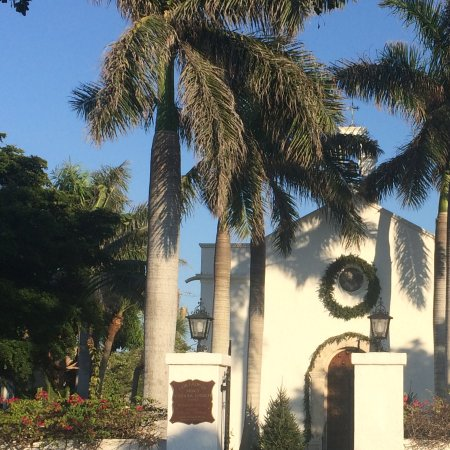 A church in Boca Grande