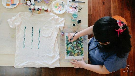 Kuala Kubu Baharu, Malaysia: Learn how to plan a basic moodboard colour combination