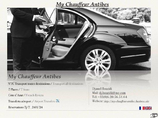 My Chauffeur Antibes