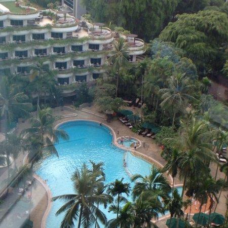 Shangri-La Hotel, Singapore: Room & view