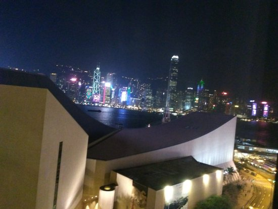 The Salisbury-YMCA of Hong Kong: view from the 12th floor harbor view room