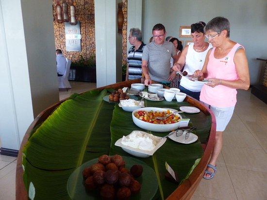Anse Forbans, Seychelles: barque de desserts