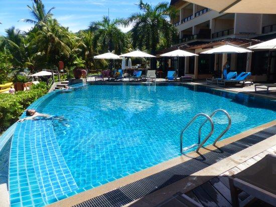 Anse Forbans, Ilhas Seychelles: piscine à débordement